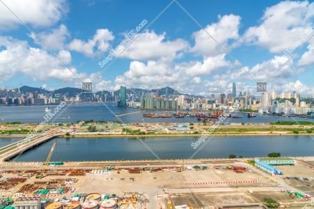香港島と九龍半島の風景 その②