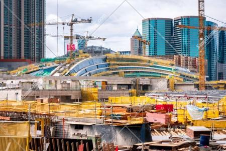 建設中の西九龍駅 その⑨