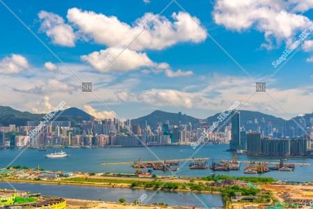 啟德と香港島の風景 その②