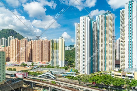 九龍灣の街並みの風景 その⑦