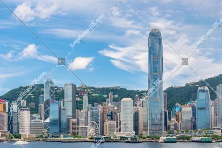 セントラル(中環)の高層ビル群 その㉑