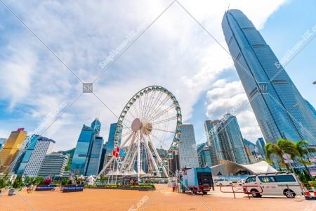 セントラル(中環) 香港観覧車とifc2 その③