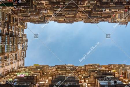 鰂魚涌 怪獣マンション(怪獣大廈) の風景 その㊴