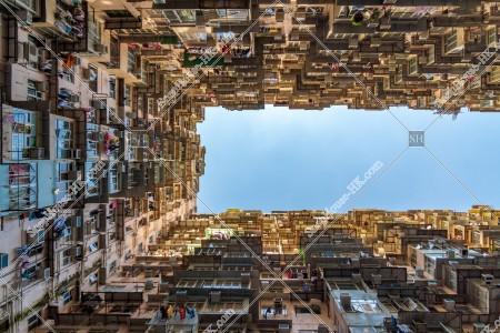 鰂魚涌 怪獣マンション(怪獣大廈) の風景 その㊶