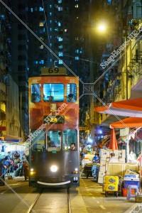 北角 春秧街の商店街と香港トラム その⑤