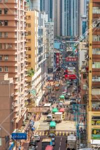 荃灣の街並みと看板 その①
