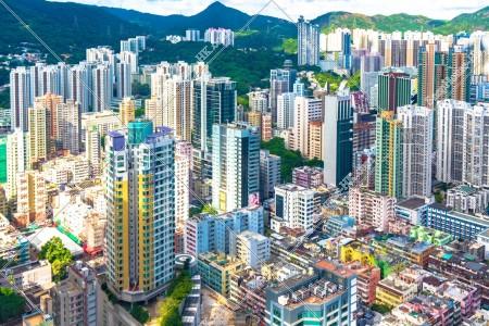 荃灣の街並みの風景 その⑦