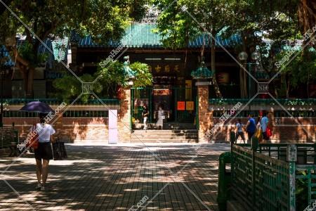 油麻地 天后廟の風景 その⑧