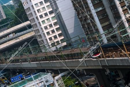 MTR 觀塘綫 走行する列車 その⑤