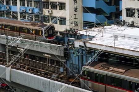 MTR 觀塘綫 走行する列車 その⑨