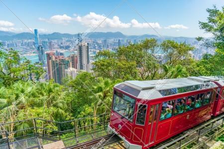 香港の都市風景とピークトラム その②