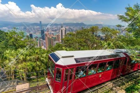 香港の都市風景とピークトラム その③