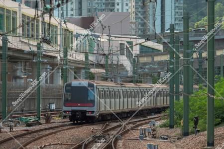 MTR 荃灣綫 走行する列車 その⑥