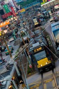 元朗の街並みとライトレール その⑪