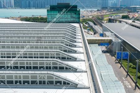 香港国際空港 スカイデッキから見るターミナル2 その①