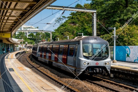 MTR 東鉄線(東鐵綫) 対向ホームに到着する列車 その②