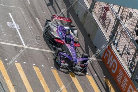 香港フォーミュラ(HK Formula E) コースを走行するF1カー その②