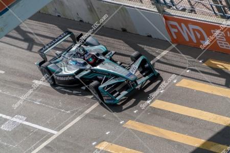 香港フォーミュラ(HK Formula E) コースを走行するF1カー その③