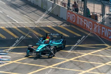 香港フォーミュラ(HK Formula E) コースを走行するF1カー その④