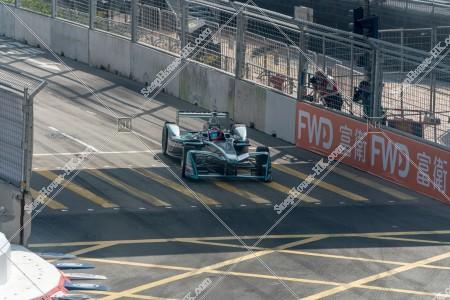 香港フォーミュラ(HK Formula E) コースを走行するF1カー その⑤