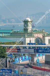 香港フォーミュラ(HK Formula E) サーキットの風景 その⑧