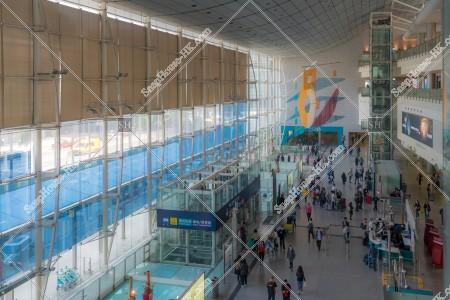 エアポートエクスプレス 香港駅の風景 その①