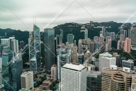 セントラル(中環)  高層ビルの風景 その①