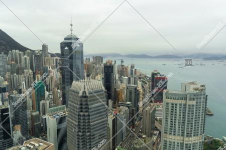 セントラル(中環) ~上環 高層ビルの風景 その①