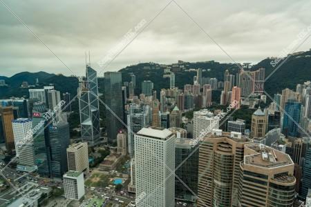 セントラル(中環)  高層ビルの風景 その⑥