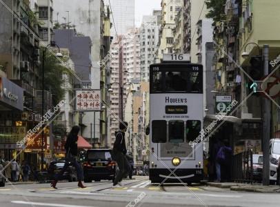 上環と香港トラムの風景 その②