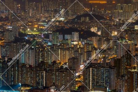 飛鵝山から見る香港の夜景 その⑤