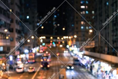 西灣河 筲箕灣道の夜の風景 その⑥