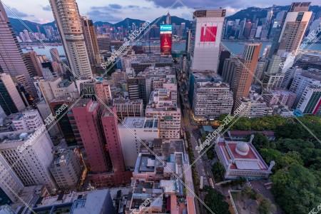 尖沙咀と香港島の夕景 その④