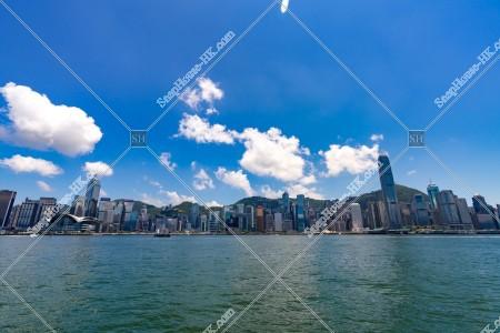 尖沙咀から見る香港島のスカイライン その②