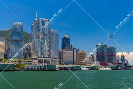 セントラル(中環)~上環の高層ビル群の風景 その①