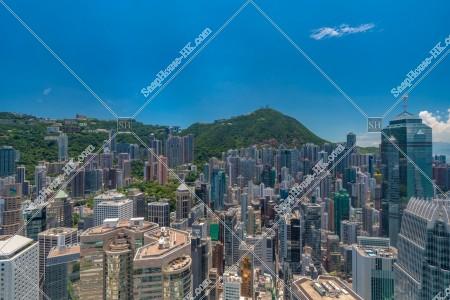 セントラル(中環)~上環の高層ビル群の風景 その③