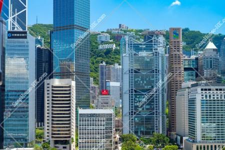 セントラル(中環)の高層ビル群の風景 その⑤