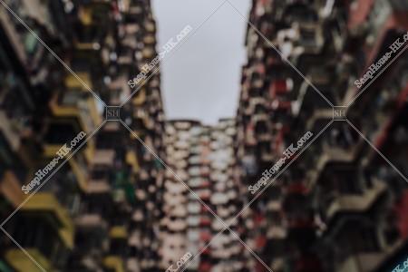 鰂魚涌 怪獣マンション(怪獣大廈) の風景 その⑮