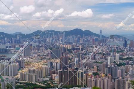 飛鵝山から見る香港の風景 その①