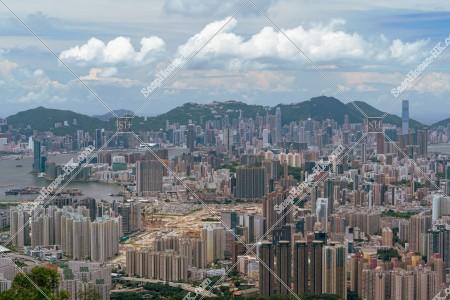 飛鵝山から見る香港の風景 その③