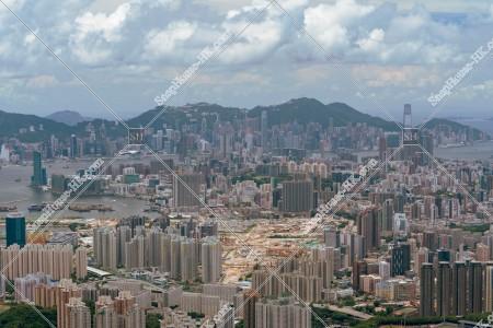 飛鵝山から見る香港の風景 その⑤
