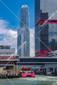 香港上環港澳碼頭(香港マカオフェリーターミナル)の風景