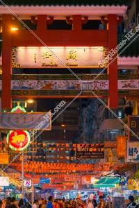 佐敦 夜の廟街の門 その⑧