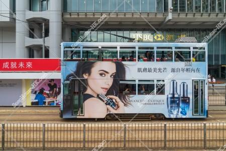 セントラル(中環)を走行する香港トラム その②