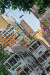 湾仔(灣仔) 街並みの風景と香港トラム その②