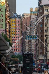 湾仔(灣仔) 街並みの風景と香港トラム その③