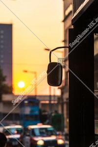 夕日と香港トラム その①
