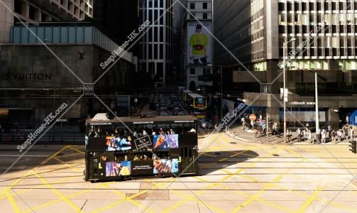 セントラル(中環)を走行する香港トラム その⑤