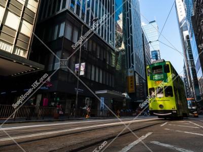 セントラル(中環)を走行する香港トラム その⑦