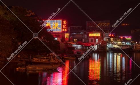 三家村の夜景